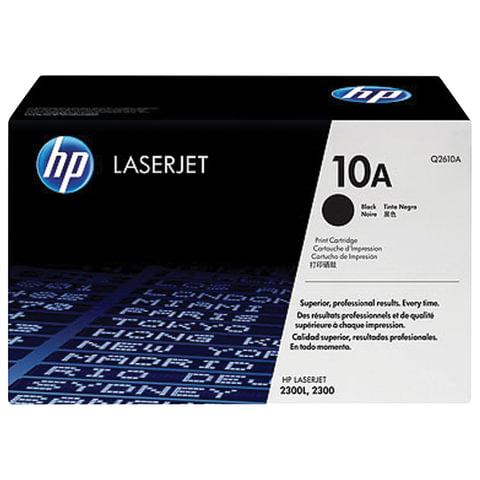 Картридж лазерный HP (Q2610A)  LaserJet 2300 и другие, №10А, ориг., ресурс 6000 стр.