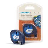 Картридж для принтеров этикеток DYMO Letra Tag, 12 мм х 4 м, лента пластиковая, белая, S0721610