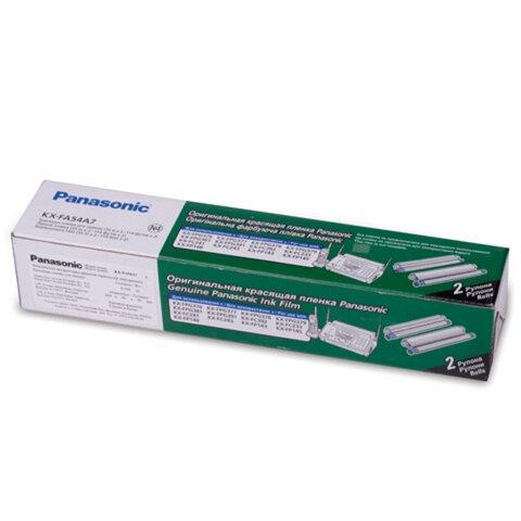 Термопленка для факса PANASONIC KX-FPG376/381/FP143/148/FC233 [KX-FA54A], 2 штуки, оригинальная