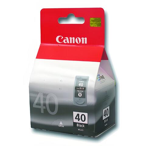 Картридж струйный CANON (PG-40)  Pixma iP1200/1600/1700/2200/MP150/160/170/180/210, черный, ориг.