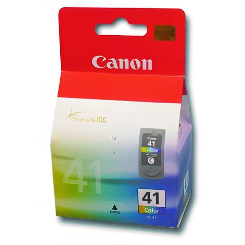 Картридж струйный CANON (CL-41) Pixma iP1200/1600/1700/2200/MP150/160/170/180/210, цветной, 0617B025