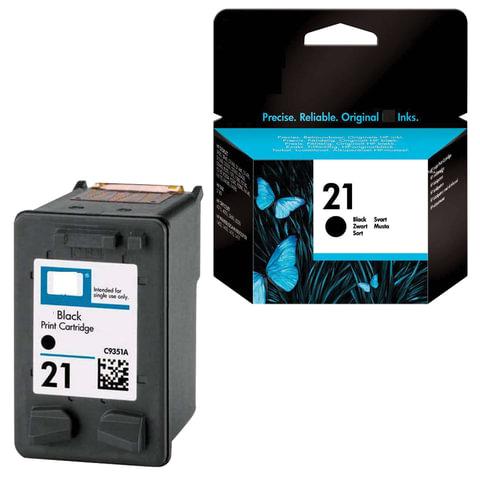 Картридж струйный HP (C9351АЕ)  Deskjet 3920/3940/officeJet4315/4355, №21, черный, ориг.