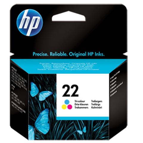 Картридж струйный HP (C9352АЕ)  Deskjet 3920/3940/officeJet4315/4355, №22, цветной, ориг.