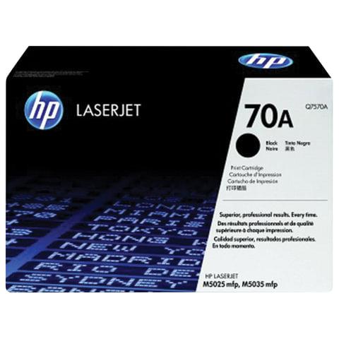 Картридж лазерный HP (Q7570A) LaserJet M5025/M5035 и другие, №70А, оригинальный, ресурс 15000 стр