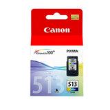 Картридж струйный CANON (CLI-513) Pixma MP240, цветной, оригинальный, 2971В007