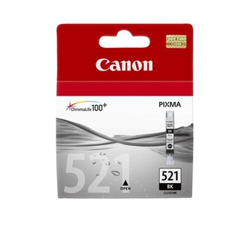 Картридж струйный CANON (CLI-521Bk)   Pixma MP540/630/980, черный, фото, ориг.