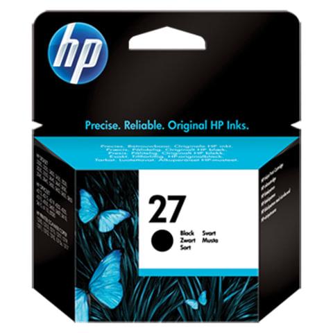 Картридж струйный HP (C8727AE)  Deskjet 3320/3520/5650/5850, №27, черный, ориг.