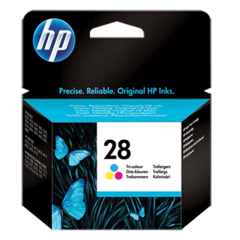 Картридж струйный HP (C8728AE) Deskjet 3320/3520/5650/5850, №28, цветной, оригинальный