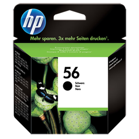Картридж струйный HP (C6656AE)  Deskjet 5150/5550/5600/5850, №56, черный, ориг.