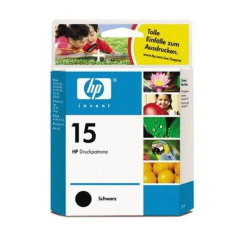 Картридж струйный HP (C6615DE)  Deskjet 816C/916C/3810/3820, №15, черный, ориг.