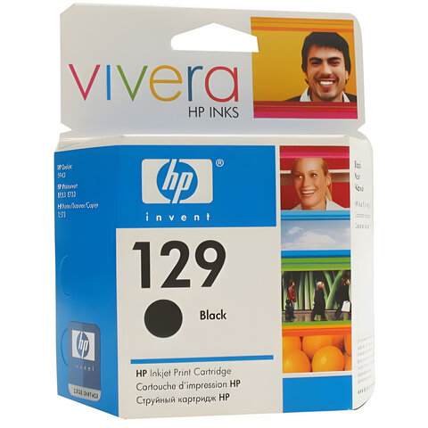Картридж струйный HP (C9364HE) PhotoSmart 2573/2575/D5063/DeskJet 6943/6983, №129, черный
