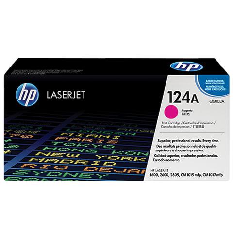 Картридж лазерный HP (Q6003A) ColorLaserJet CM1015/2600 и другие, пурпурный, оригинальный, 2000 стр.