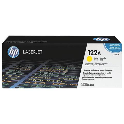 Картридж лазерный HP (Q3962A) ColorLaserJet 2550/2820 и другие, желтый, оригинальный, 4000 стр.