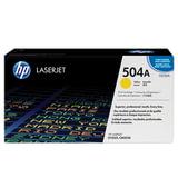 Картридж лазерный HP (CE252A) ColorLaserJet CP3525/CM3530, желтый, оригинальный, ресурс 7000 страниц