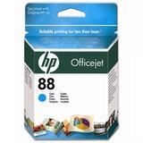 Картридж струйный HP (C9386AE) Officejet pro L7680/L7780, №88, голубой, оригинальный, ресурс 860 стр