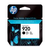 Картридж струйный HP (CD971AE) Officejet 6000/6500/7000, №920, черный, оригинальный, ресурс 420 стр.