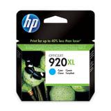 Картридж струйный HP (CD972AE) Officejet 6000/6500/7000, №920, голубой, оригинальный, 700 стр.