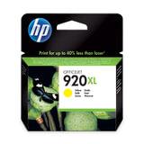 Картридж струйный HP (CD974AE) Officejet 6000/6500/7000, №920, желтый, оригинальный, ресурс 700 стр.