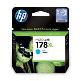 Картридж струйный HP (CB323HE) Photosmart D5400, №178XL, голубой, оригинальный, ресурс 750 стр.