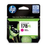 Картридж струйный HP (CB324HE) Photosmart D5400, №178XL, пурпурный, оригинальный, ресурс 750 стр.