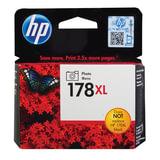 Картридж струйный HP (CB322HE) Photosmart D5400, №178XL, фото черный, оригинальный, ресурс 290 фото