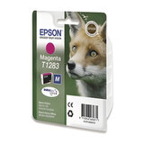 Картридж струйный EPSON (C13T12834010/11) Stylus S22/SX125/SX420W/SX425W/BX305F/FW, пурпурн., ориг.