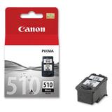 Картридж струйный CANON (PG-510) Pixma MP240/MP260/MP480, черный, оригинальный, ресурс 220 страниц, 2970B007