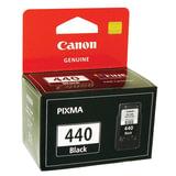 Картридж струйный CANON (PG-440) Pixma MG2140/PIXMA MG3140/PIXMA MG4140, черный, оригинальный, 5219B001