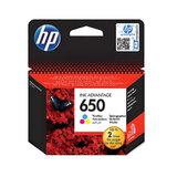 Картридж струйный HP (CZ102AE) Deskjet Ink Advantage 2515/2516 №650, цветной, оригинальный