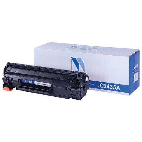 Картридж лазерный NV PRINT (NV-CB435A) для HP LaserJet P1002/1005/1006/1007/1008, ресурс 1500 стр.
