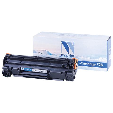 Картридж лазерный NV PRINT (NV-728) для CANON MF4410/4430/4450/4550dn/4580dn, ресурс 2100 стр.