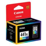 Картридж струйный CANON (CL-441XL) PIXMA MG2140/3140/3540/4240, цветной, оригинальный, ресурс 400 стр., увеличенная емкость, 5220B001
