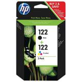 Картридж струйный HP (CR340HE) DeskJet 1050/2050/2050s, комплект, оригинальный, черный и цветной