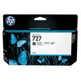 Картридж струйный для плоттера HP (B3P22A) Designjet T920/1500, №727, черный матовый, 130 мл, оригинальный