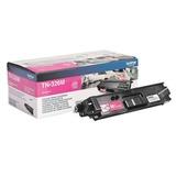 Картридж лазерный BROTHER (TN326M) HL-L8250CDN/MFC-L8650CDW, пурпурный, оригинальный, ресурс 4000 стр.