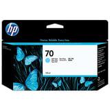 Картридж струйный HP (C9390A) DesignJet Z2100/Z5200/Z3200, №70, светло-голубой, оригинальный