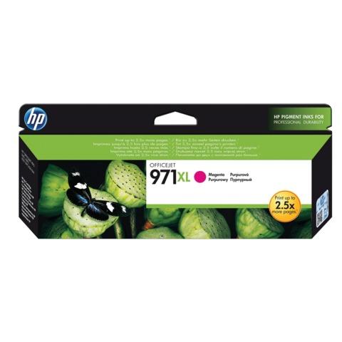 Картридж струйный HP (CN627AE) OfficeJet Pro X576/476/451/551, №971XL, пурпурный, оригинальный, ресурс 6600 стр.