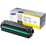 Картридж лазерный SAMSUNG (CLT-Y506L) CLP-680/CLX-6260, оригинальный, желтый, ресурс 3500 стр.