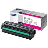 Картридж лазерный SAMSUNG (CLT-M506L) CLP-680/CLX-6260, оригинальный, пурпурный, ресурс 3500 стр.