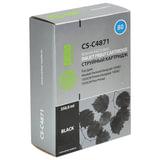 Картридж струйный HP (C4871A) DesignJet 1000/1050/1055, №80, черный, 350 мл, CACTUS совместимый, CS-C4871