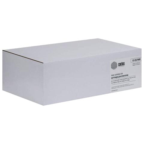 Картридж лазерный HP (CE278AF) LaserJet P1566/1606DN, комплект 2 шт., ресурс 2х2100 стр., CACTUS совместимый, CS-CE278AD