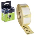 Картридж для принтеров этикеток DYMO Label Writer, этикетка 25х13 мм, в рулоне, 1000 шт./рулоне, удаляемые, белые, S0722530