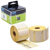 Картридж для принтеров этикеток DYMO Label Writer, этикетка 57х32 мм, в рулоне, 1000 шт./рулоне, удаляемые, белые, S0722540