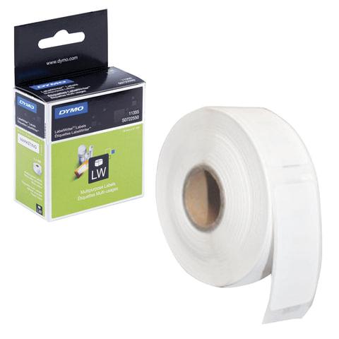 Картридж для принтеров этикеток DYMO Label Writer, этикетка 51х19 мм, в рулоне, 500 шт./рулоне, удаляемые, белые, S0722550