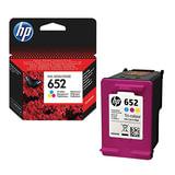Картридж струйный HP (F6V24AE) DeskJet 2135/3635/3835/4535/4675/1115, №652, цветной, оригинальный ресурс 200 стр.