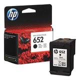 Картридж струйный HP (F6V25AE) DeskJet 2135/3635/3835/4535/4675/1115, №652, черный, оригинальный, ресурс 360 стр.