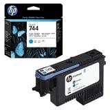 Головка печатающая для плоттера HP (F9J86A) Designjet Z2600/Z5600, №744, черный фото/голубой, оригинальный