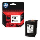 Картридж струйный HP (С2P10AE) Ink Advantage 5575/5645/OfficeJet 202, №651, черный, оригинальный, ресурс 600 стр., C2P10AE