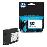 Картридж струйный HP (F6U12AE) Officejet Pro 8710/8210, №953, голубой, ресурс 700 стр., оригинальный