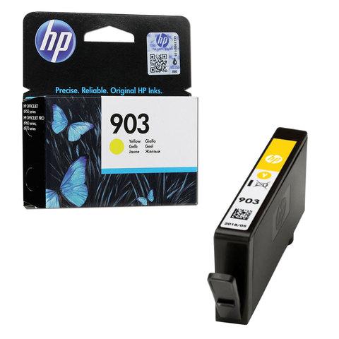 Картридж струйный HP (T6L95AE) OfficeJet 6950/6960/6970, №903, желтый, ресурс 315 стр., оригинальный